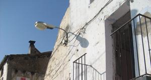 Derribo de vivienda en Balaguer